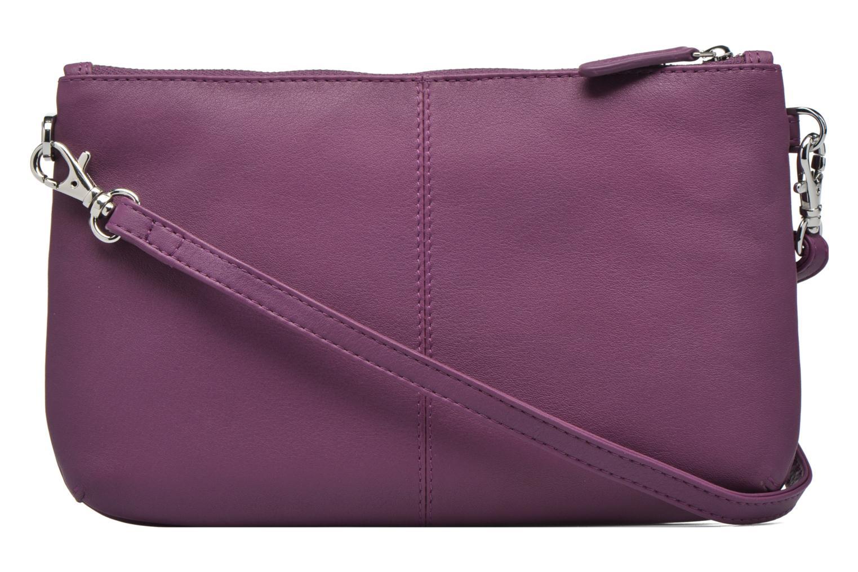 Mini Bags Le Tanneur VALENTINE Pochette zippée lila ansicht von vorne