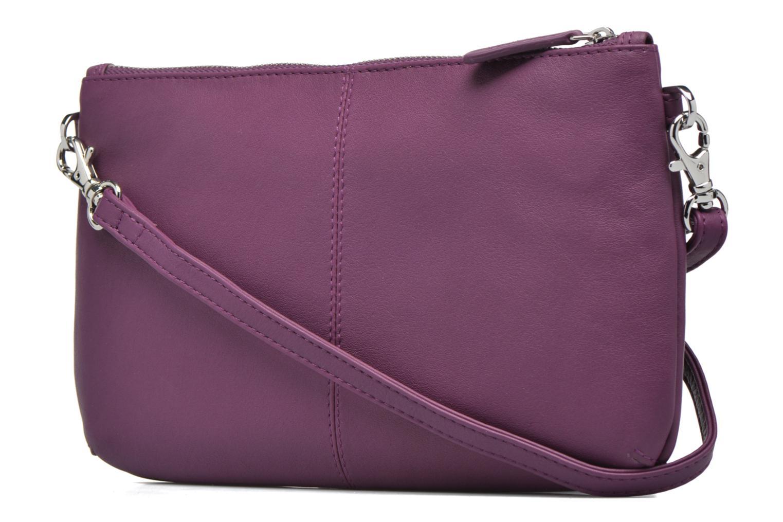 Mini Bags Le Tanneur VALENTINE Pochette zippée lila ansicht von rechts