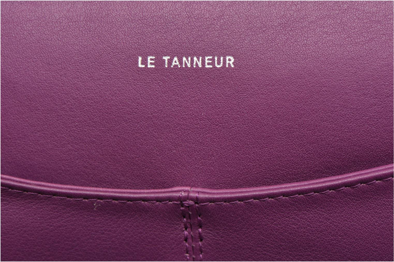 Mini Bags Le Tanneur VALENTINE Pochette zippée lila ansicht von hinten