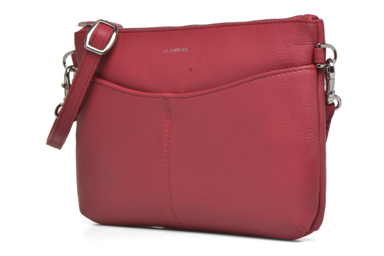 Mini Bags Le Tanneur VALENTINE Pochette zippée rosa ansicht von rechts