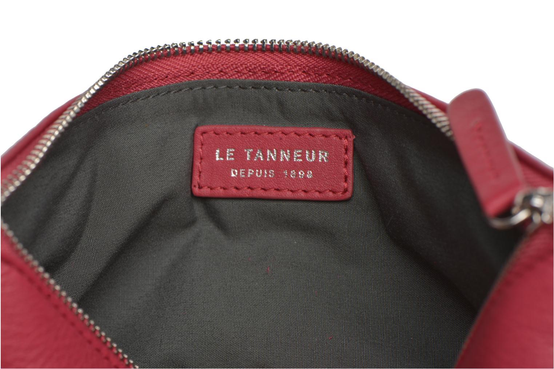 Sacs pochettes Le Tanneur VALENTINE Pochette zippée Rose vue derrière