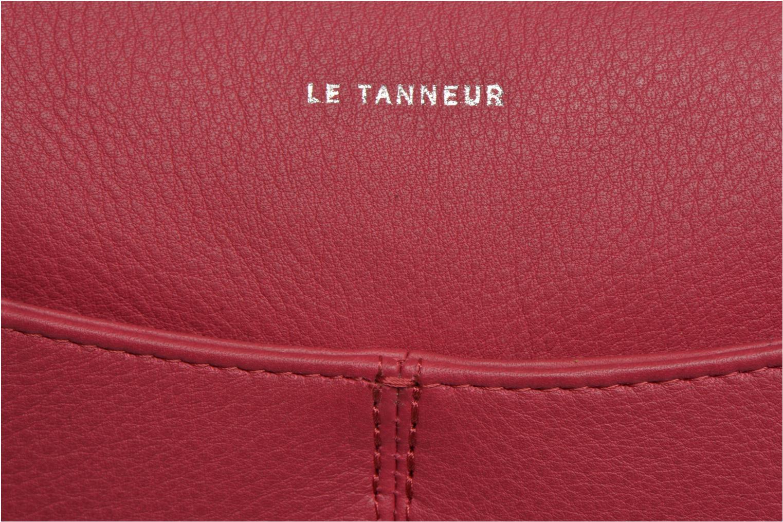 Sacs pochettes Le Tanneur VALENTINE Pochette zippée Rose vue gauche