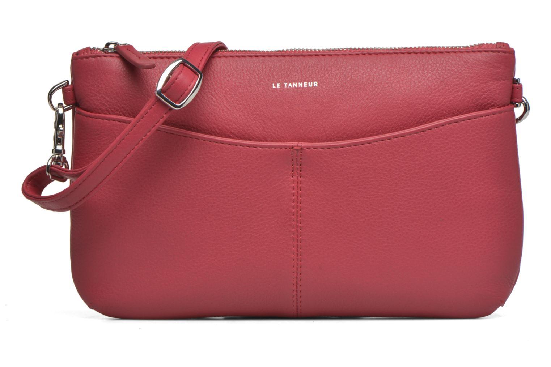 Clutchtasker Le Tanneur VALENTINE Pochette zippée Pink detaljeret billede af skoene