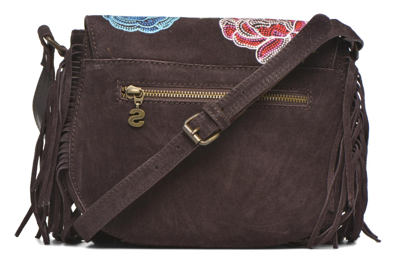 Handbags Desigual ANTEDOTS VARSOVIA Porté travers Brown front view