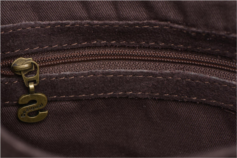 Handbags Desigual ANTEDOTS VARSOVIA Porté travers Brown back view