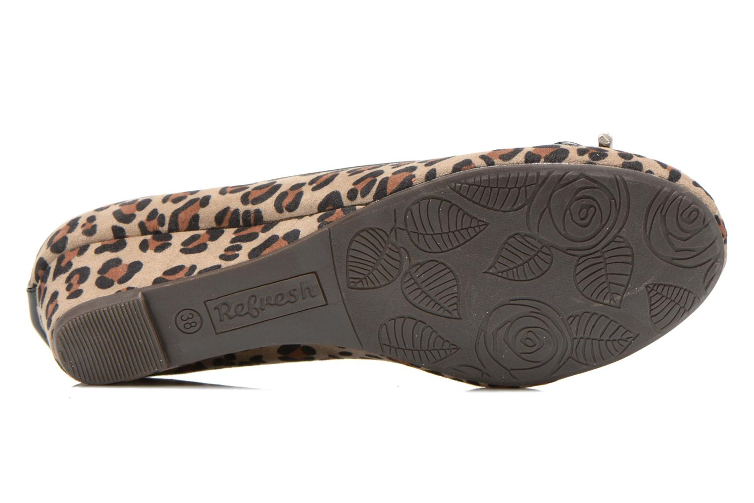 Ballet pumps Refresh Gatinina-61162 Brown view from above
