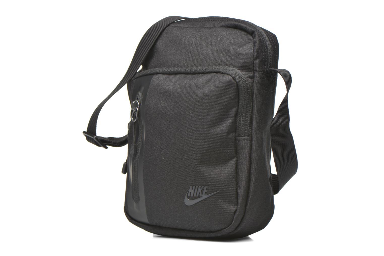 Borse uomo Nike Nike Tech Small Items Bag Nero modello indossato