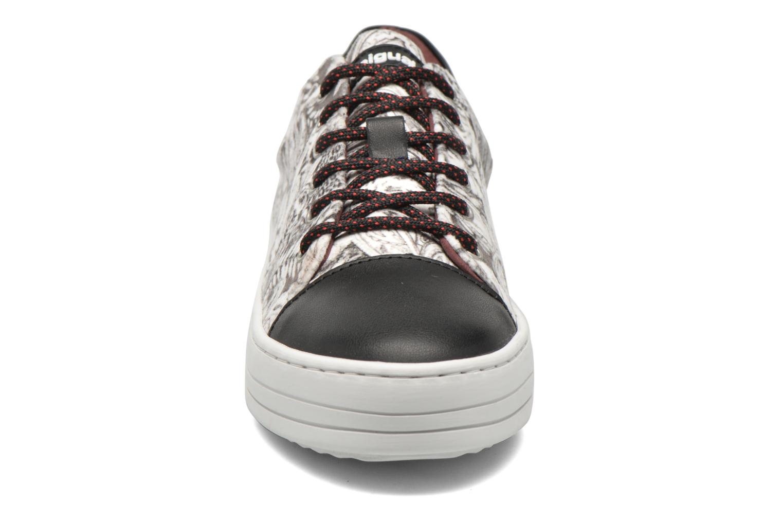 Baskets Desigual Funky Multicolore vue portées chaussures