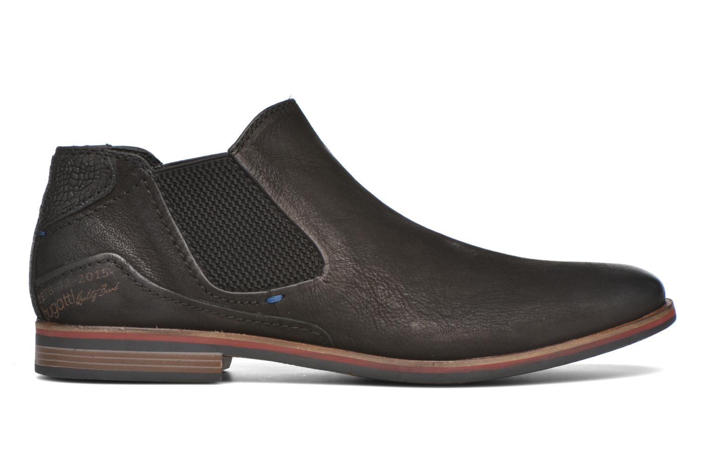 Bottines et boots Bugatti Abramo Noir vue derrière