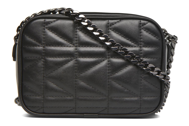 Håndtasker Karl Lagerfeld Kuilted Mini crossbody Sort se forfra