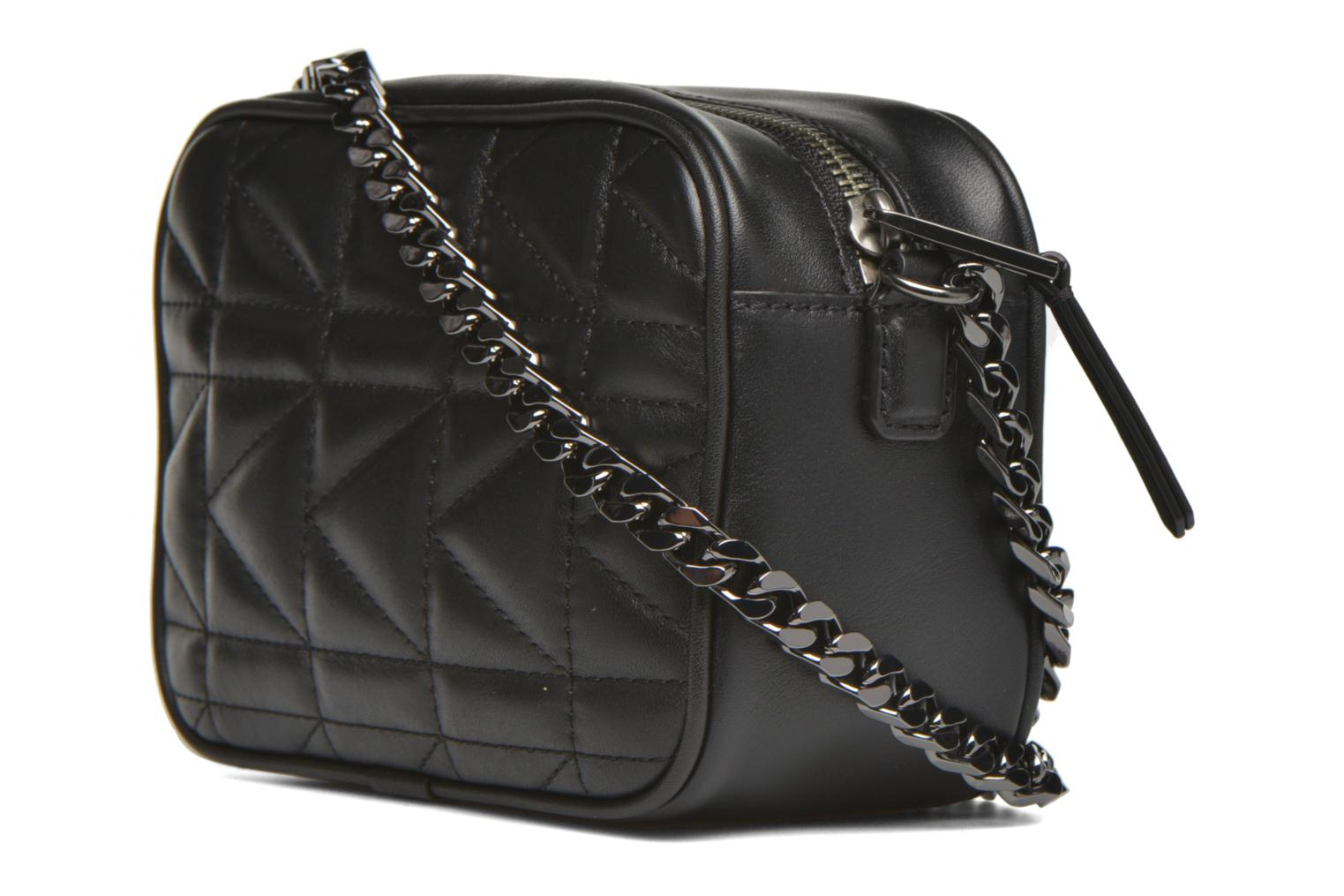 Kuilted Mini crossbody Black/black