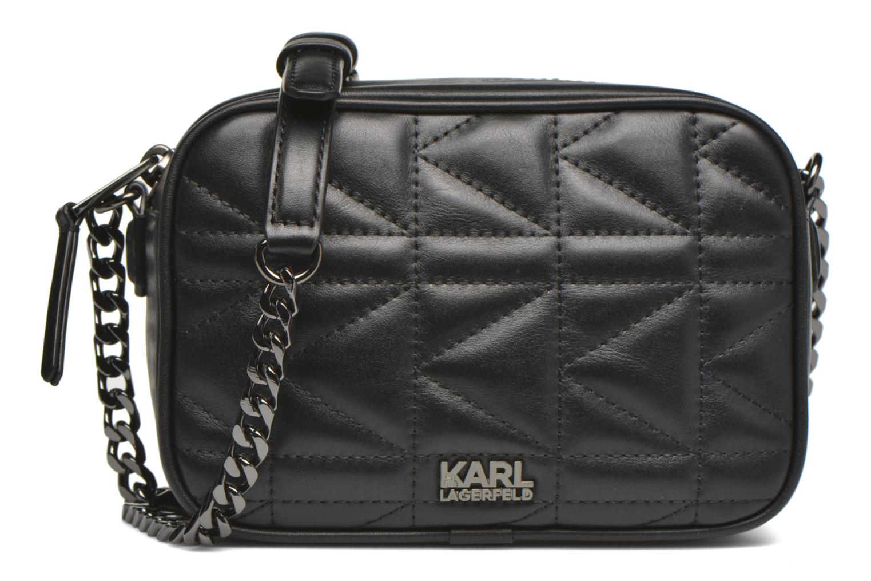 Håndtasker Karl Lagerfeld Kuilted Mini crossbody Sort detaljeret billede af skoene