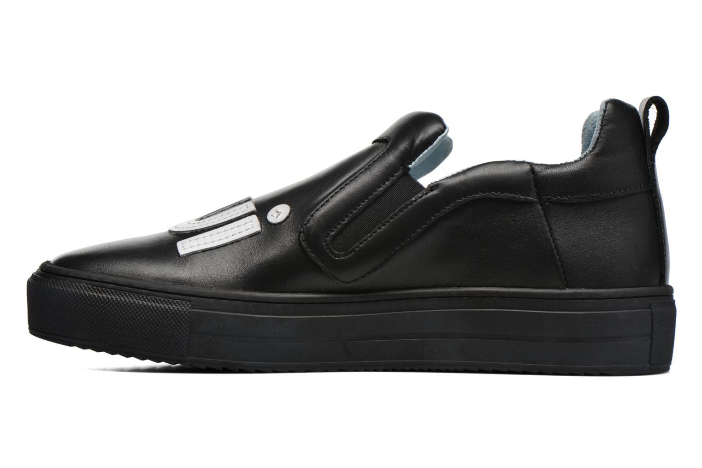 Sneakers Apologie Oui Non Zwart voorkant