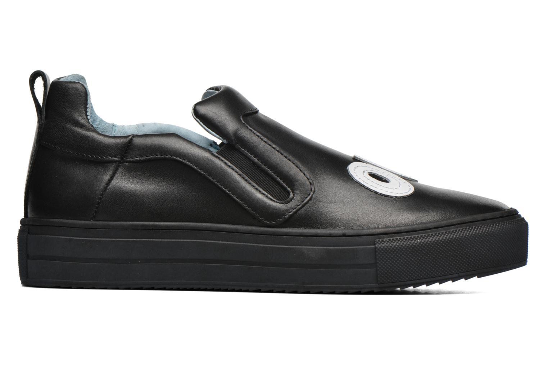 Sneakers Apologie Oui Non Zwart achterkant
