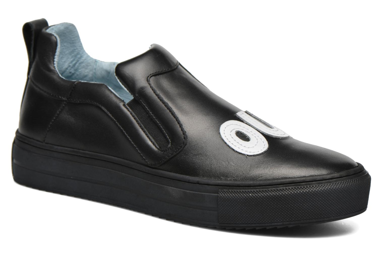 Sneakers Apologie Oui Non Zwart detail