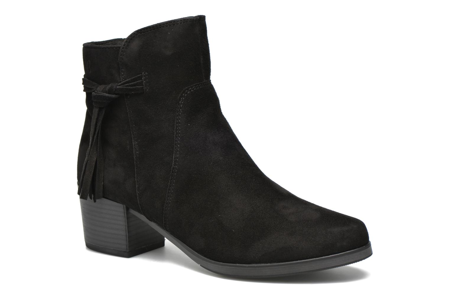 Bella 2 Black Suede