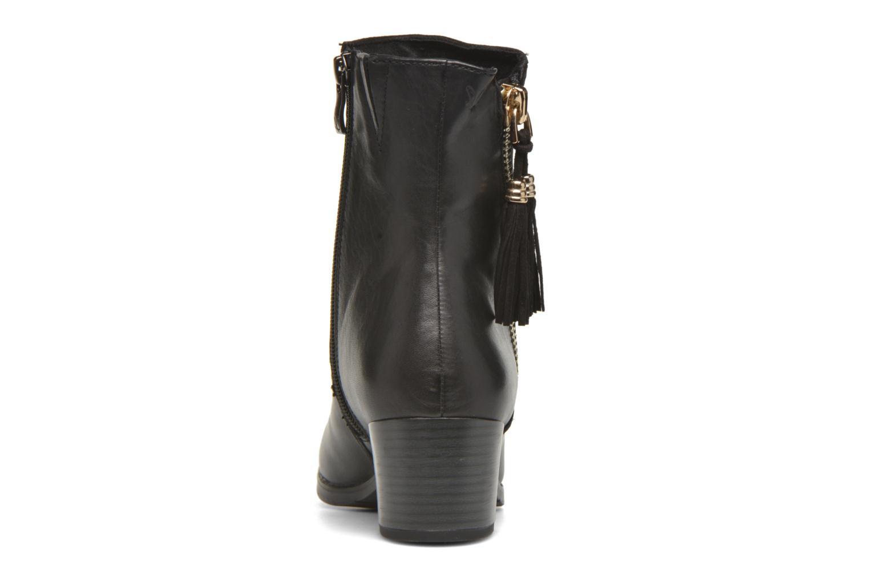 Bottines et boots Caprice Bella Zip Noir vue droite