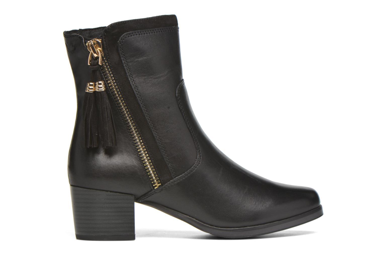 Bottines et boots Caprice Bella Zip Noir vue derrière