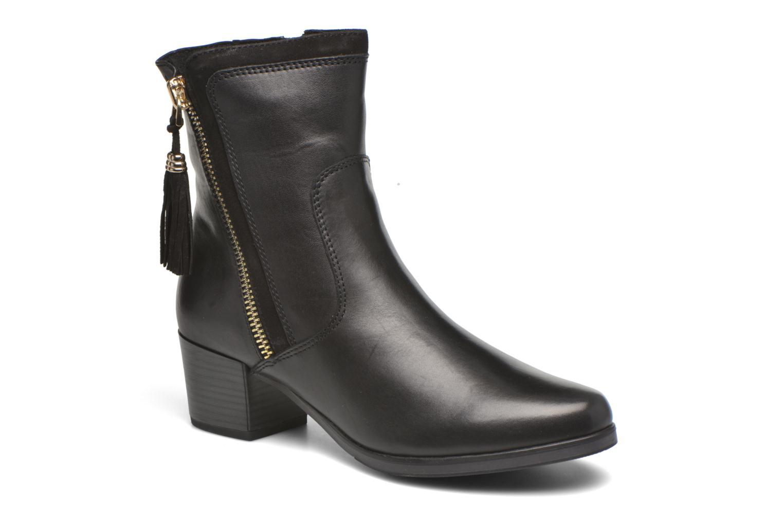 Bottines et boots Caprice Bella Zip Noir vue détail/paire