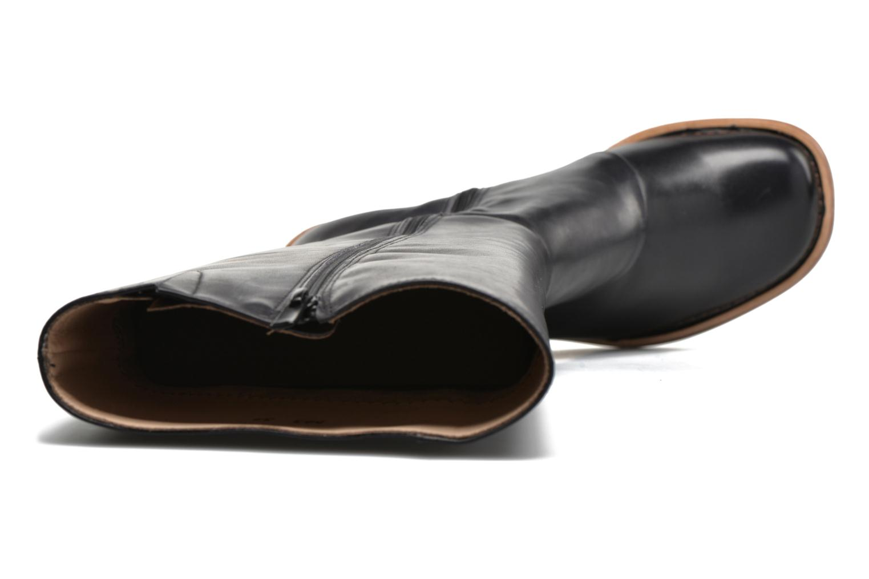 Botas Neosens Debina S563 Negro vista lateral izquierda