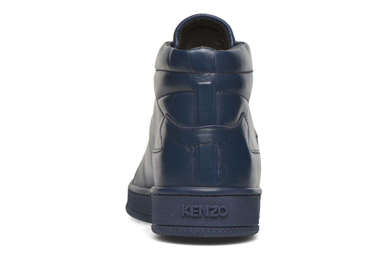 Baskets Kenzo Tearx Bleu vue droite