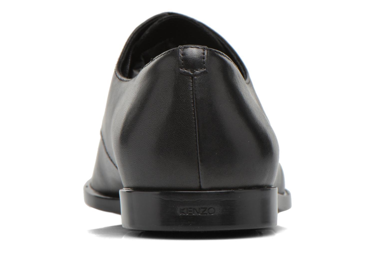 Zapatos con cordones Kenzo Justicier Negro vista lateral derecha