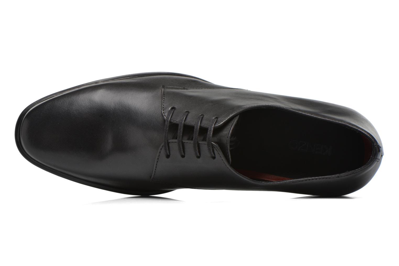 Zapatos con cordones Kenzo Justicier Negro vista lateral izquierda