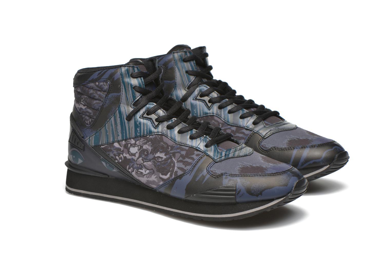 Sneakers Kenzo Runmid Svart 3/4 bild