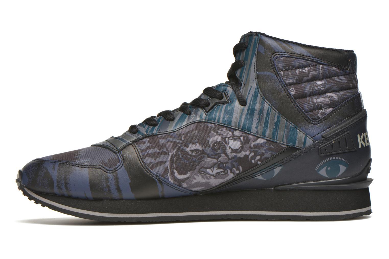 Sneakers Kenzo Runmid Svart bild från framsidan