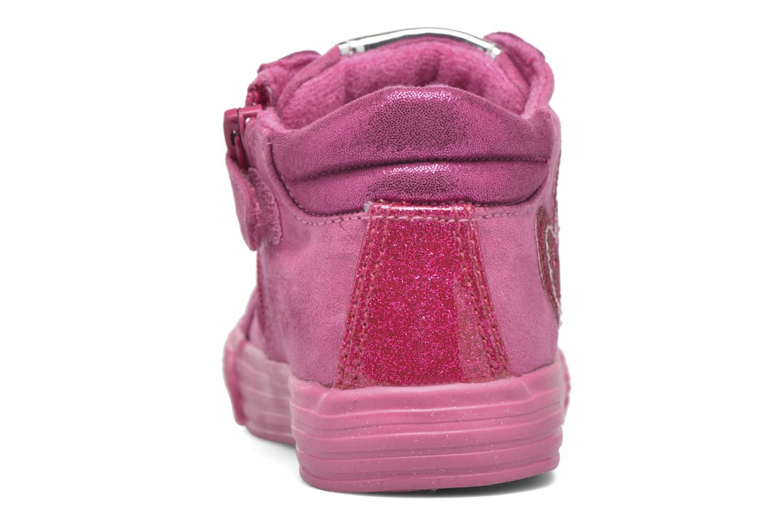 Baskets Agatha Ruiz de la Prada Mini Lollipop 2 Rose vue droite