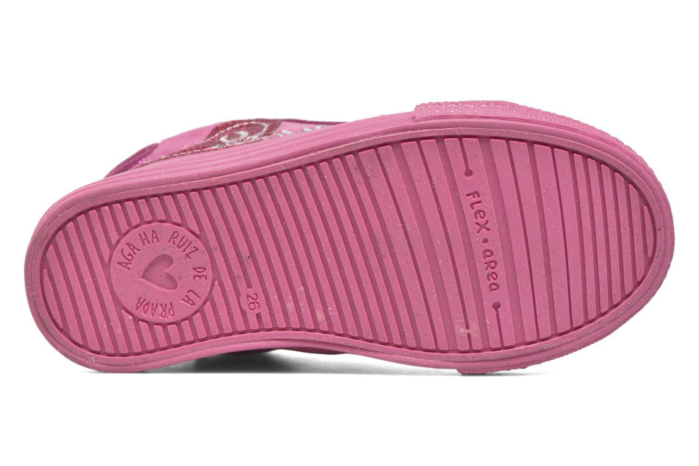 Sneakers Agatha Ruiz de la Prada Mini Lollipop 2 Rosa immagine dall'alto