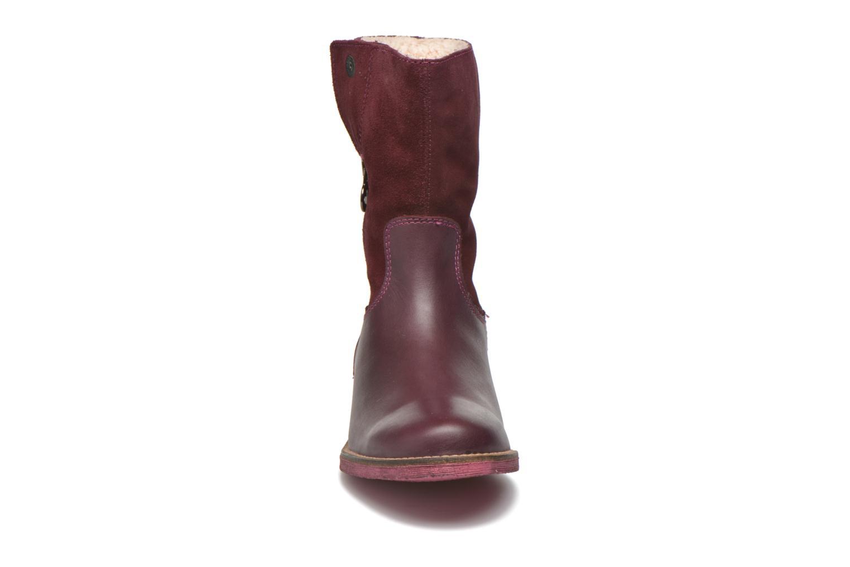 Stiefel Agatha Ruiz de la Prada Camperas Agatha 2 weinrot schuhe getragen