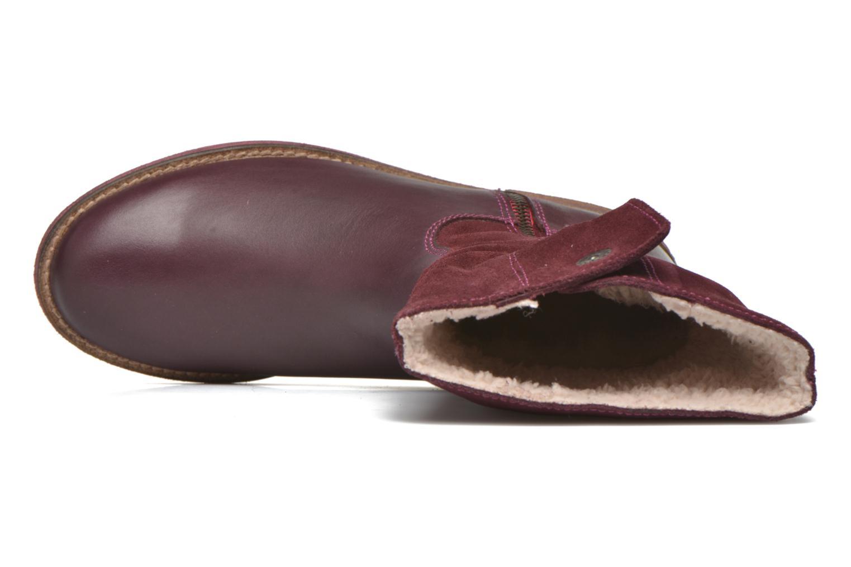Stiefel Agatha Ruiz de la Prada Camperas Agatha 2 weinrot ansicht von links