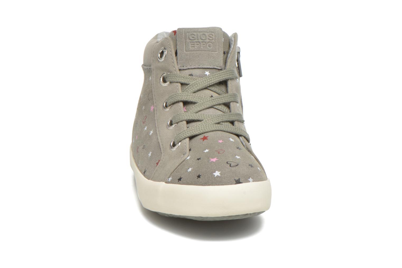 Baskets Gioseppo Nacha Gris vue portées chaussures