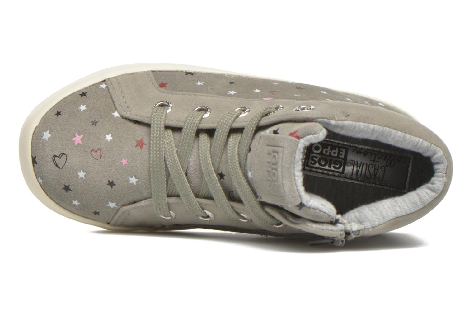 Trainers Gioseppo Nacha Grey view from the left