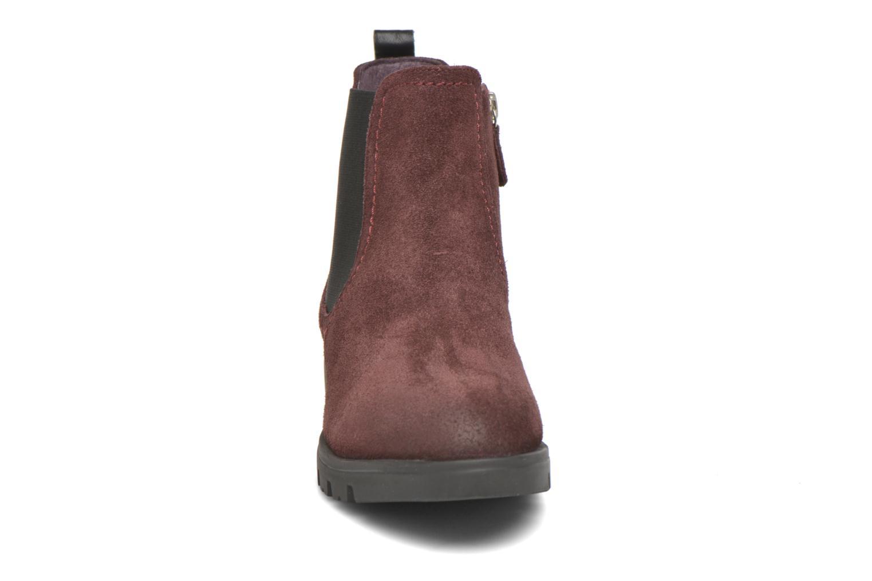 Bottines et boots Gioseppo Muros Bordeaux vue portées chaussures