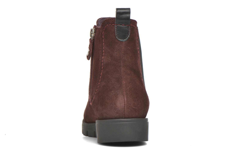 Bottines et boots Gioseppo Muros Bordeaux vue droite