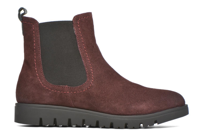 Bottines et boots Gioseppo Muros Bordeaux vue derrière