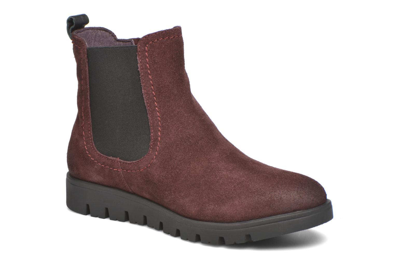 Bottines et boots Gioseppo Muros Bordeaux vue détail/paire