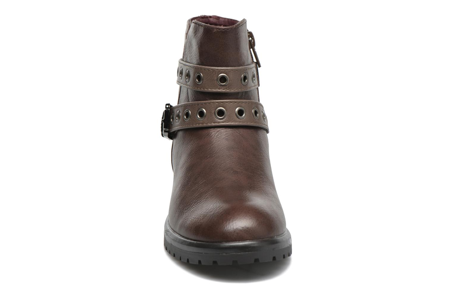 Ankle boots Gioseppo Pistones Brown model view