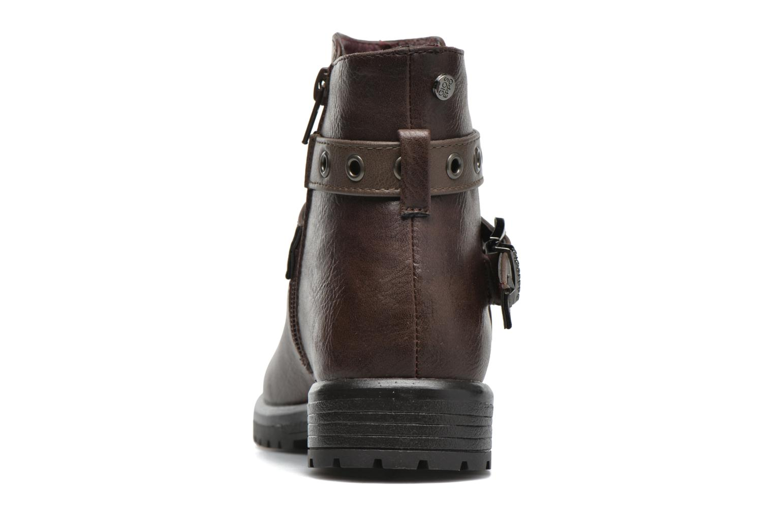 Ankle boots Gioseppo Pistones Brown view from the right