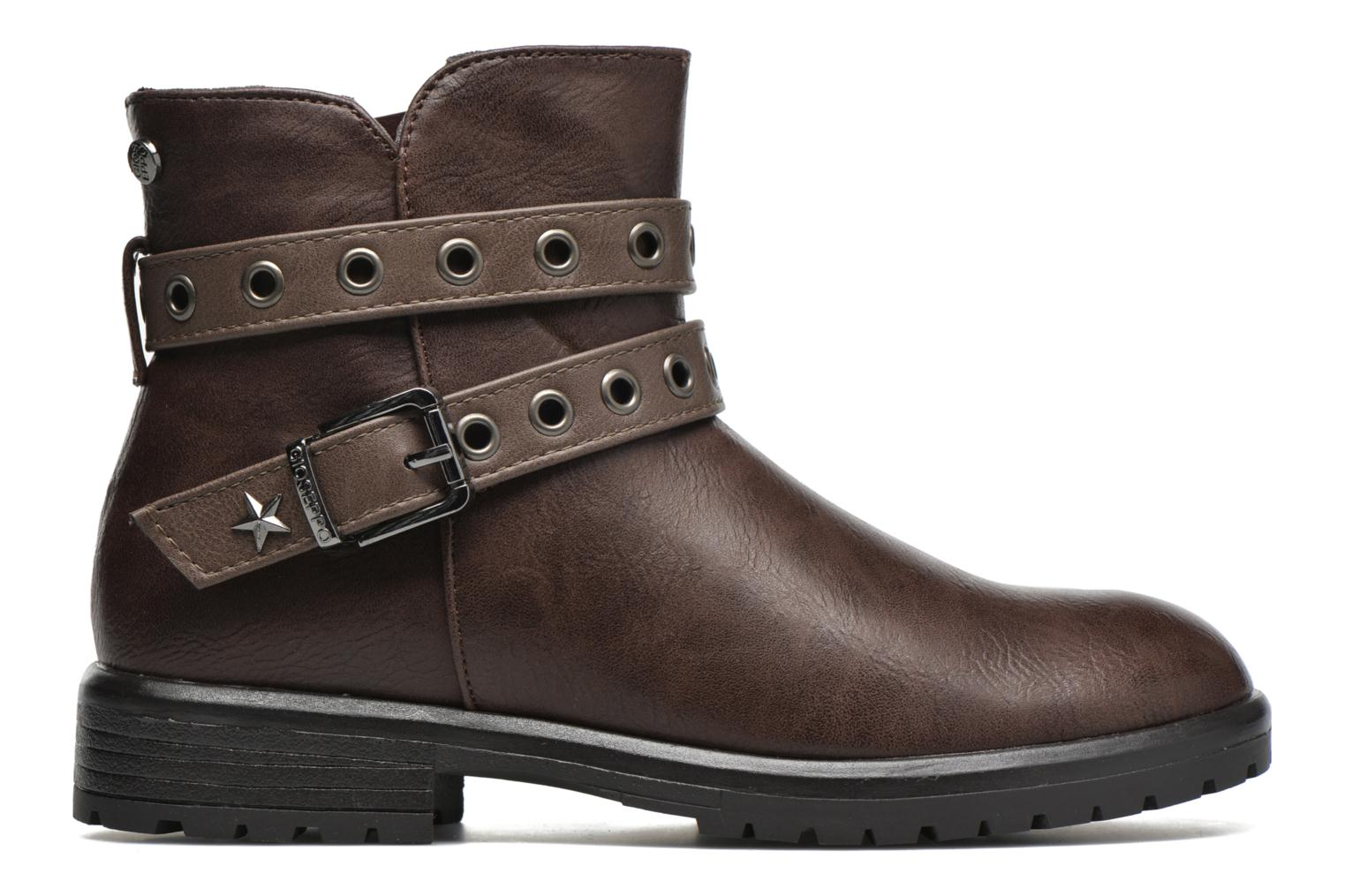 Ankle boots Gioseppo Pistones Brown back view