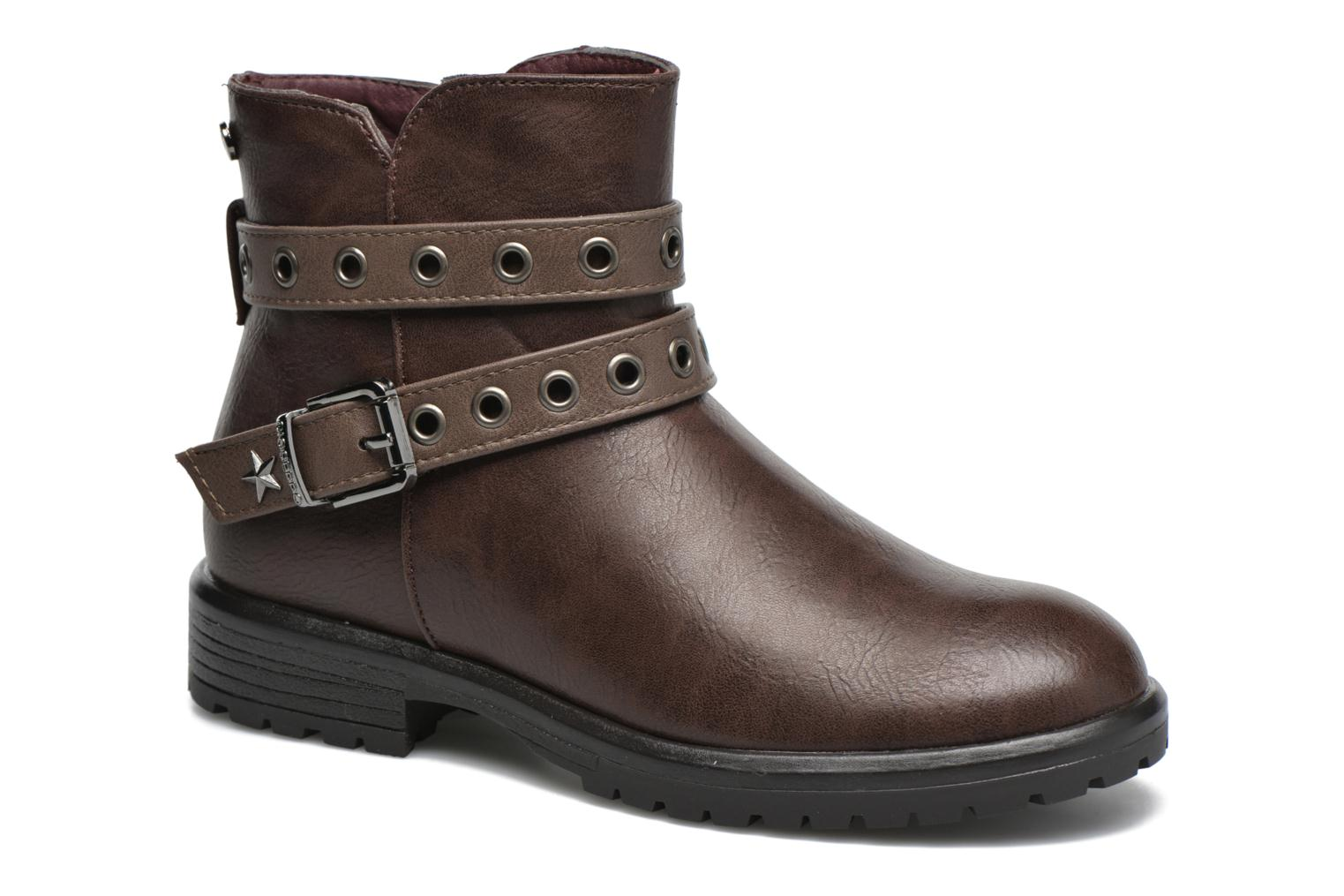 Ankle boots Gioseppo Pistones Brown detailed view/ Pair view