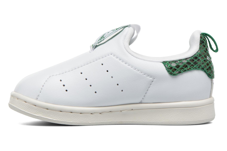 Hausschuhe Adidas Originals Stan Smith 360 I weiß ansicht von vorne