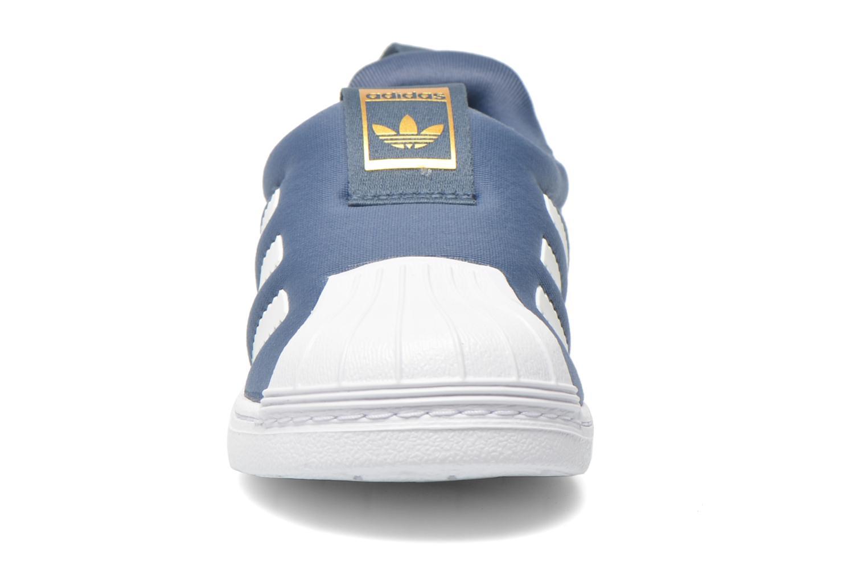 Baskets Adidas Originals Superstar 360 I Bleu vue portées chaussures
