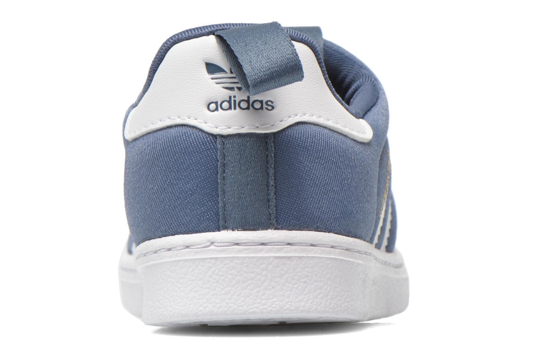 Baskets Adidas Originals Superstar 360 I Bleu vue droite
