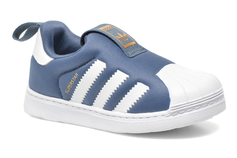 Baskets Adidas Originals Superstar 360 I Bleu vue détail/paire
