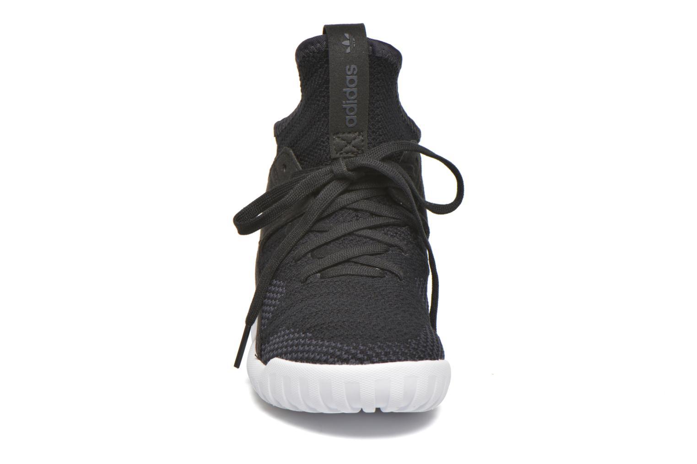 Baskets Adidas Originals Tubular X Pk C Noir vue portées chaussures