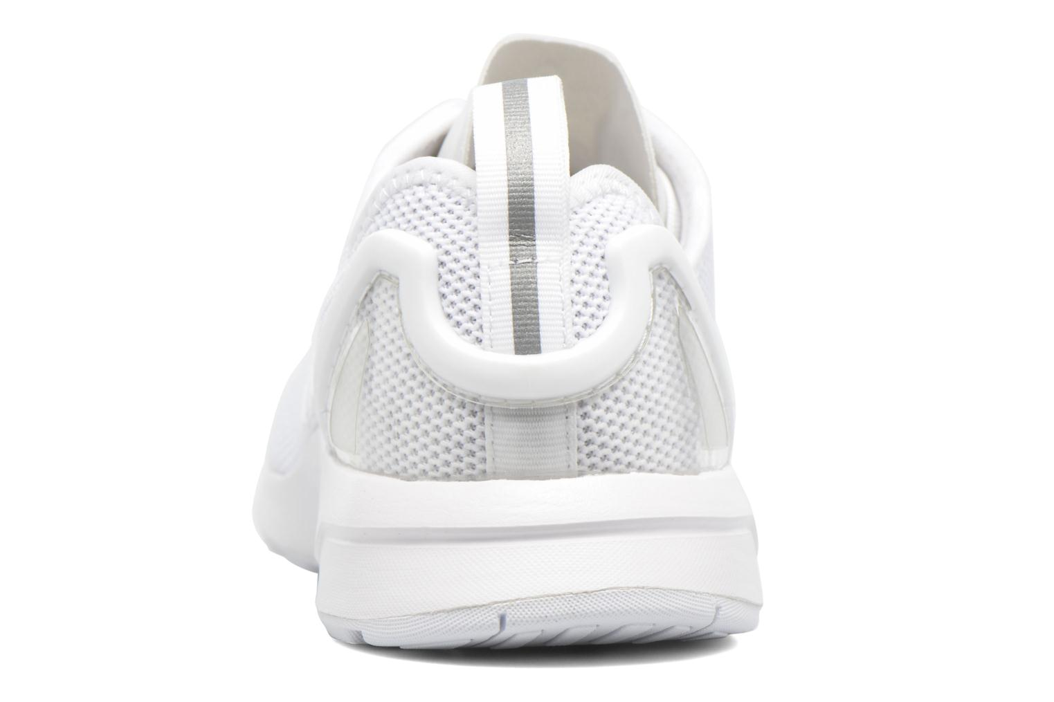 Trainers Adidas Originals Zx Flux Adv J White view from the right