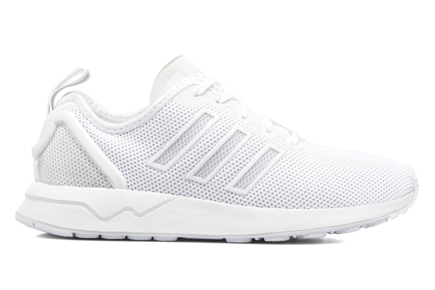 Trainers Adidas Originals Zx Flux Adv J White back view